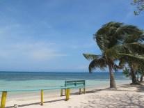 Plage Utila Is. paradis du plongeur que je suis! Honduras