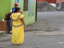 Habit traditionnel de Chiriqui, Panama