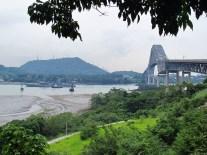 Puente de las Americas et le Canal de Panama (embouchure)