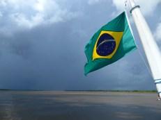 """Amazone appelé """"Solimoes"""" au Brésil"""