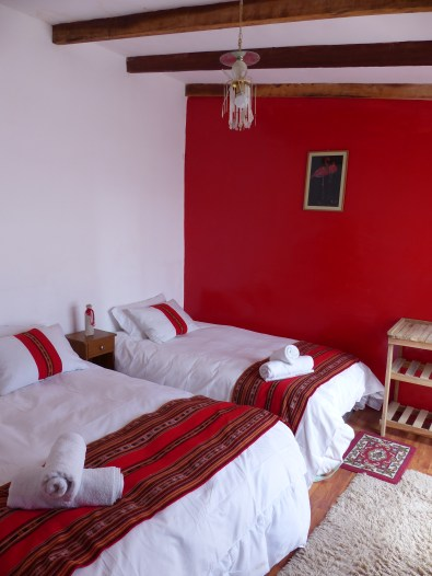 Intérieur d'une chambre luxe