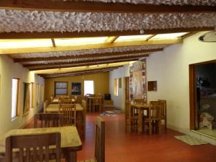 Architecture originale ici du restaurant