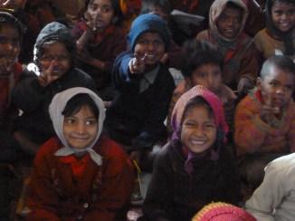 Des écoliers au Bihar : l'Etat le plus pauvre de la fédération indienne bat de tristes records, avec le plus faible taux d'alphabétisation du pays