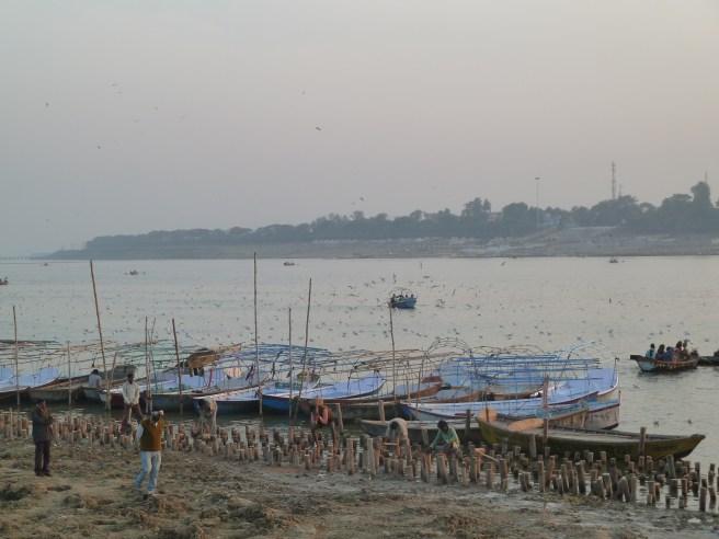 """""""Sangam"""" : le point de rencontre entre Gange et Yamuna"""