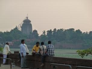 Harmonie du soir à Bhubaneshwar