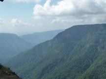 Boisé Meghalaya, près de la frontière avec le Bangladesh
