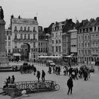 Où je vois Lille en noir et blanc !