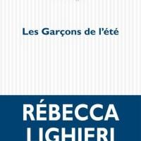"""""""Les Garçons de l'été"""", Rebecca LIGHIERI"""