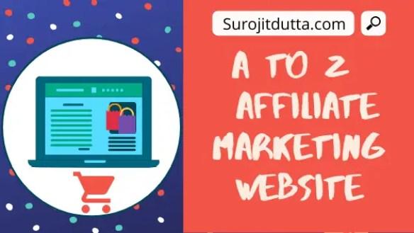 Affiliate Marketing Website Details
