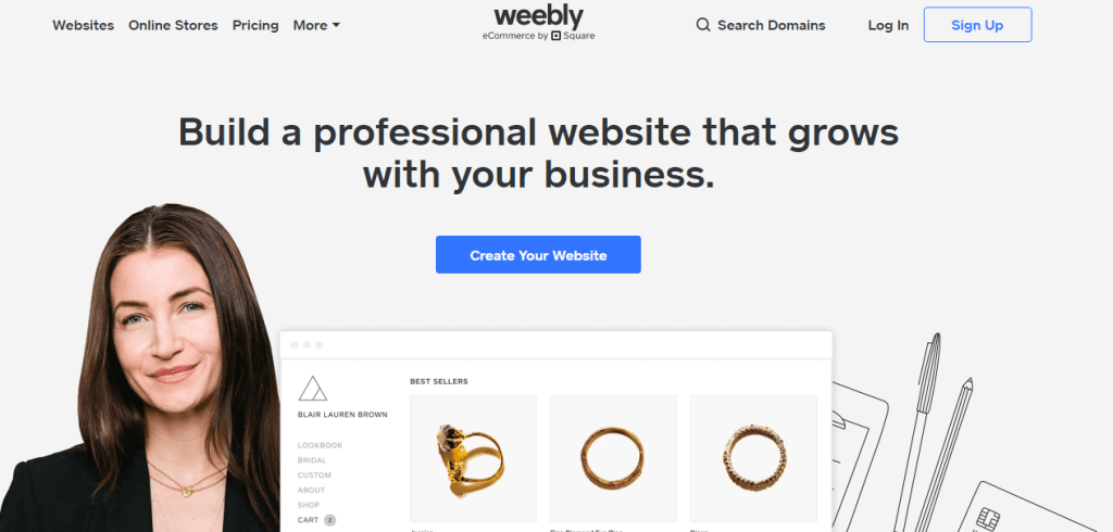 Weebly Free web hosting and domain