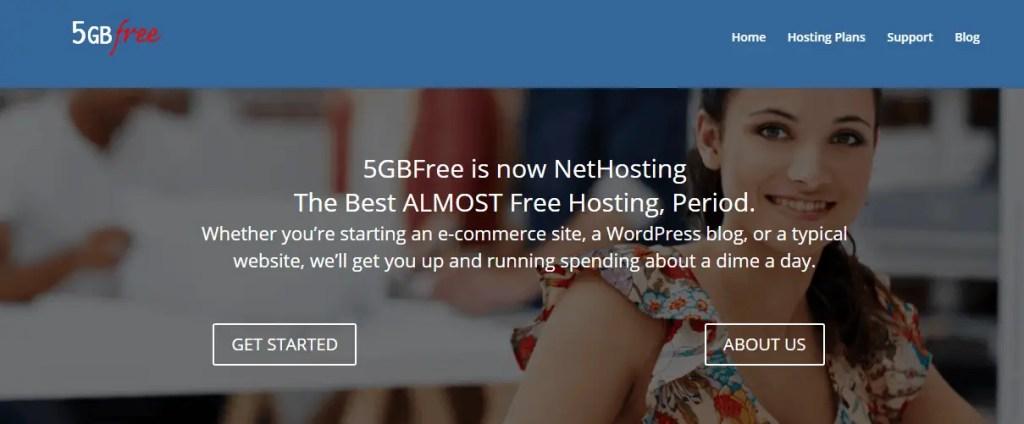 5GB Free Web hosting Sites