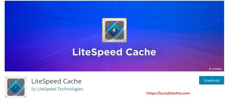 Best Plugin For WordPress Cache Is LiteSpeed Cache