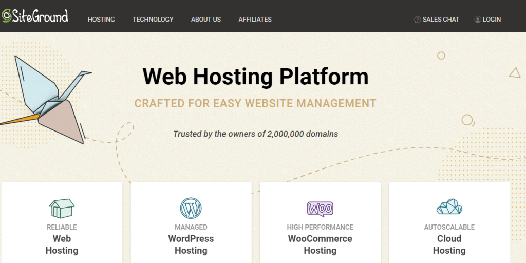 Site Ground Web Hosting Services