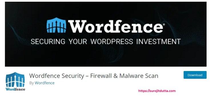 Wordfence Best WordPress Plugin For Security