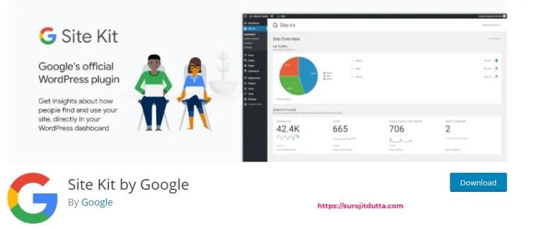 Site Kit by Google Best Plugin For WordPress