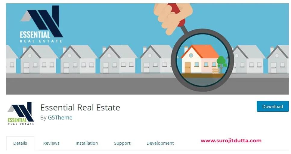 WordPress Real Estate Plugin - Essential Real Estate