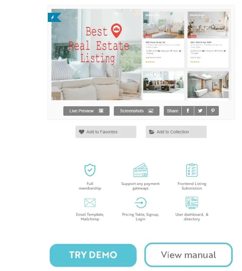 WordPress Real Estate Plugin Real Estate Pro