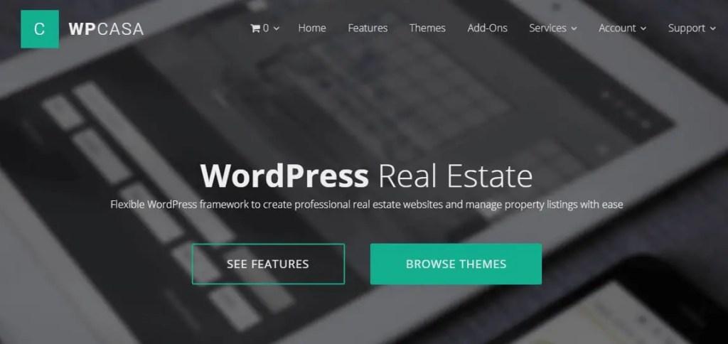 WordPress Real Estate Plugin- WPCASA