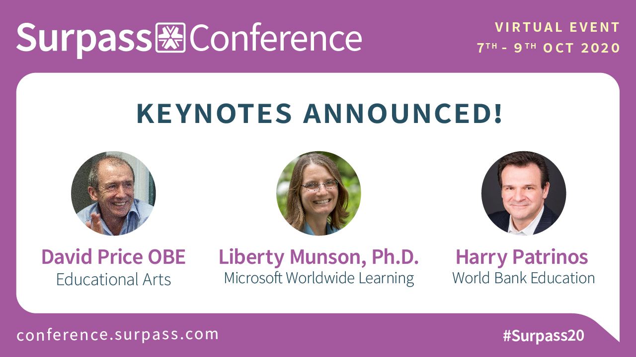 Surpass Conference 2020 Keynotes Announced
