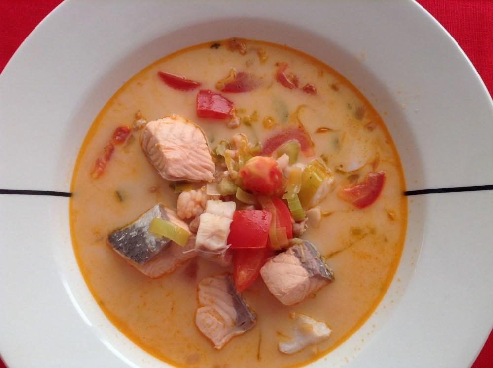 Fiskasúpa - Icelandic fish soup