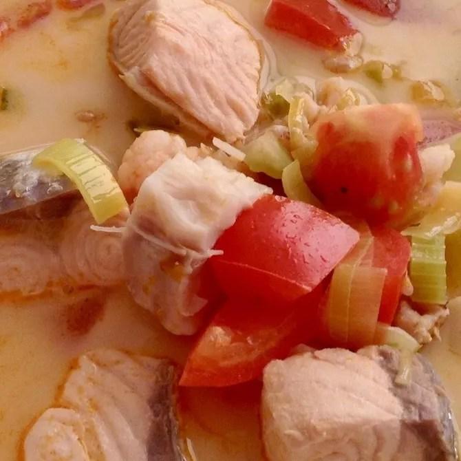 Fiskasupa - icelandic fish soup