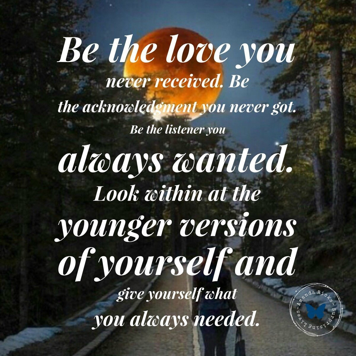 Give Yourself Love - Quote.
