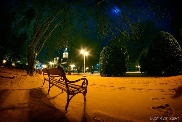 Timisoara in ianuarie