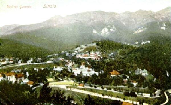 Fotografii si vederi vechi cu Sinaia