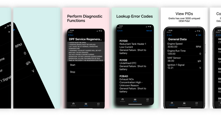Preview of App