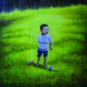 Tetsuya Ishida, Lost Child, 2004, Acrylic on canvas