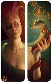 The_Gnostic_Serpent_by_Felideus
