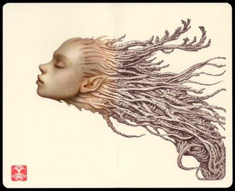 Surrealist Neuron by Naoto Hattori