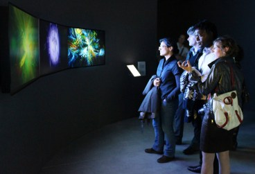 Generation 244 Triptych at Vida Retrospective in Madrid, 2012.05.
