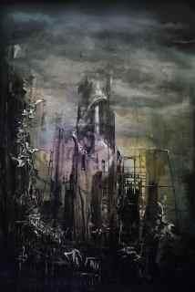 Dark Tower - 122cm x 84cm