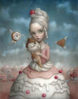 Cherrie by by Nicoletta Ceccoli