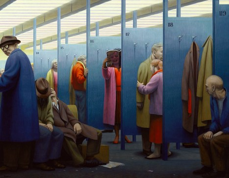 George Clair Tooker 1920-2011 - American Magic Realist painter - 11