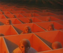 George Clair Tooker 1920-2011 - American Magic Realist painter - 8
