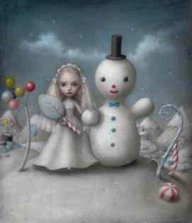 The Snow Bride by Nicoletta Ceccoli