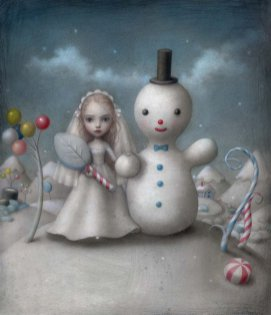 The Snow Bride by Nicoletta Ceccoli