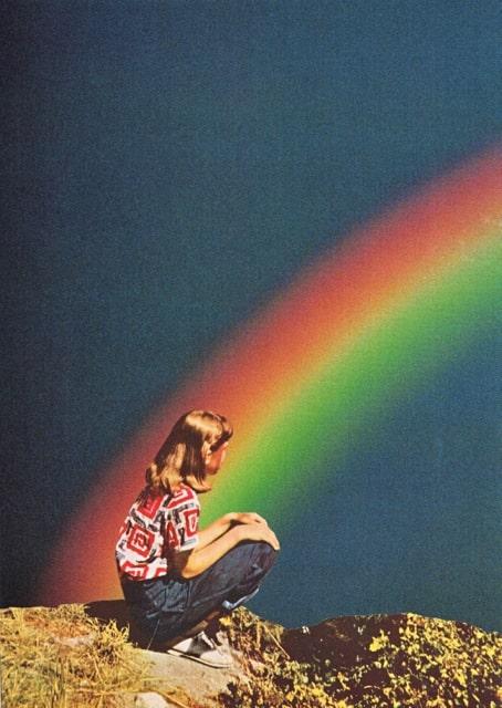 Night Rainbow - by Beth Hoeckel