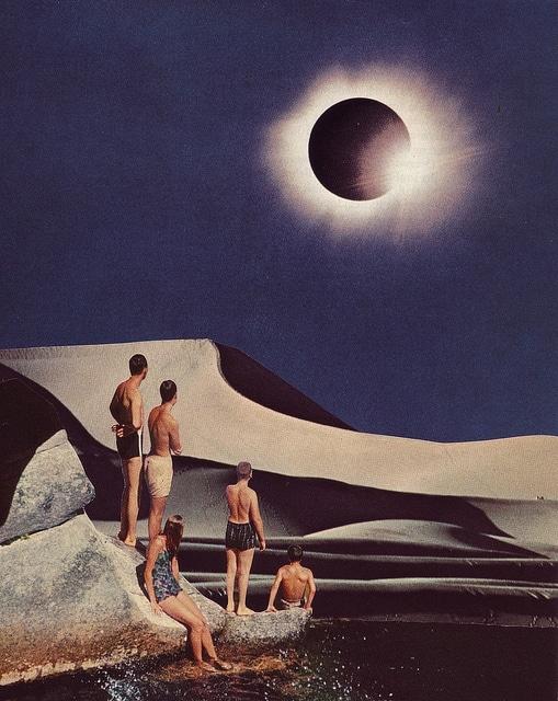 Solar Eclipse - by Beth Hoeckel