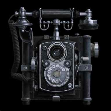 Antique Camera Phone