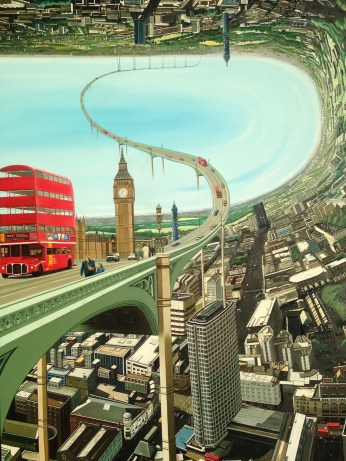 Big Ben Rollercoaster - by Lindsay Pickett