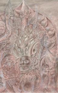 Goddess of the Rocks by Mara Holden - detail