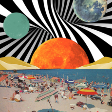 Karen Lynch - Psychedelic Beach