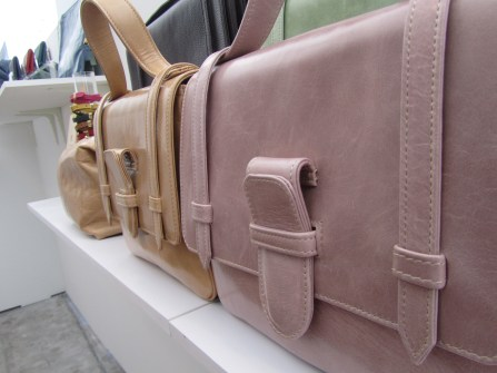 9 O'Clock Tales Leather Carriers with antiquated look and finish
