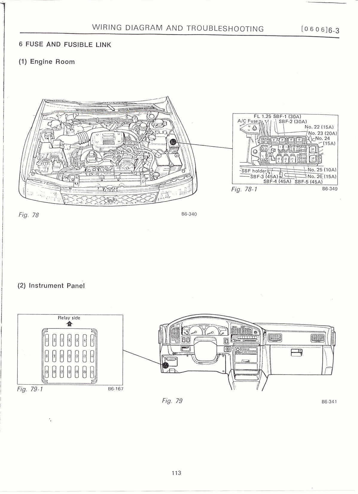 2000 Subaru Outback Wiring Diagram | Wiring Diagram Database
