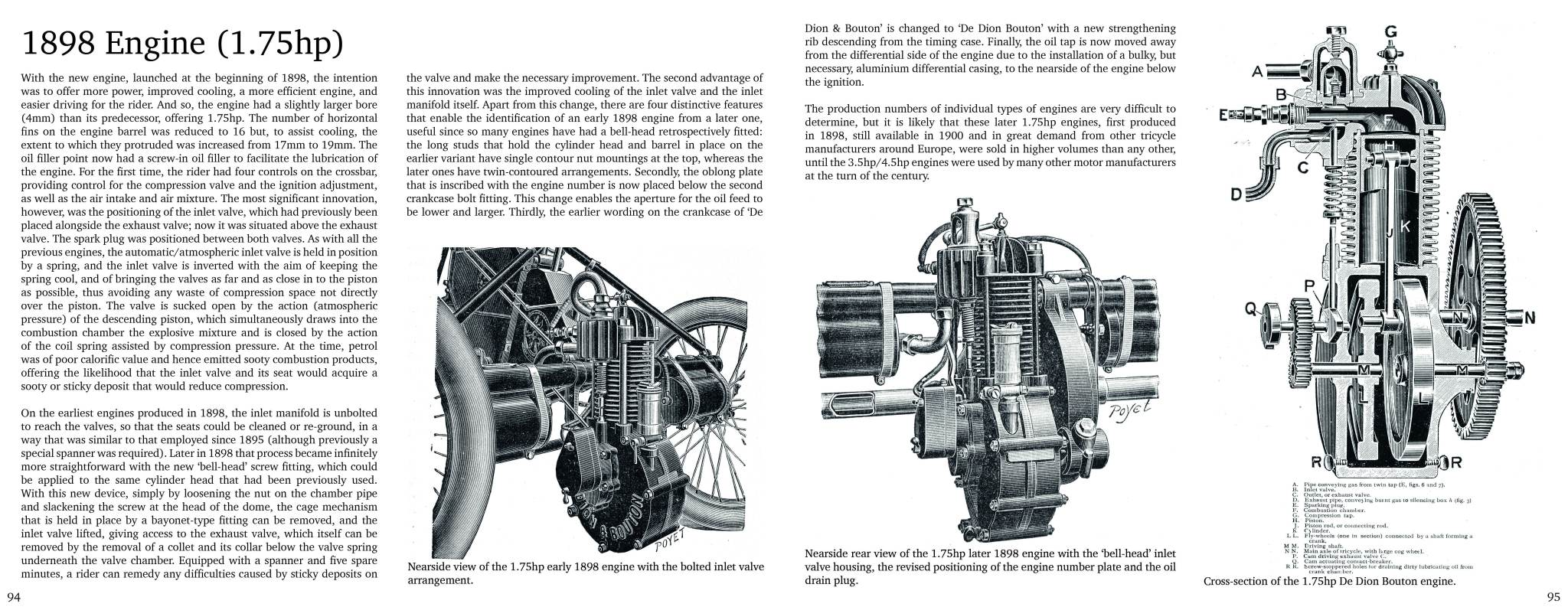Sample Page | 1898 Engine | The Tricycle Book, Part One, 1895-1902
