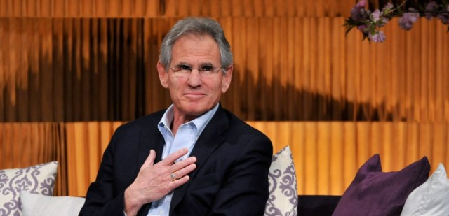 NEW YORK, NY - APRIL 25: (EXCLUSIVE COVERAGE) Jon Kabat-Zinn attends THRIVE: A Third Metric Live Event at New York City Center on April 25, 2014 in New York City. D Dipasupil/Getty Images/AFP
