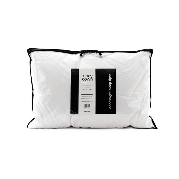 Surrey Down Duck Feather & Down Standard Pillow